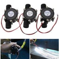 Dc chaude France-La vente chaude 4.8V 5v 12V 80v 10W CC powerpout micro hydro-générateur L'eau de robinet Flow Hydraulic DIY 1/2 pouce