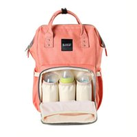 Wholesale Nappy bags Diaper bags backpack canvas college boys and girls Bag Backpack Travel Bag mummy bag