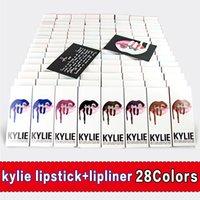 Wholesale Kylie Lipstick Factory Direct Kylie Jenner Lip Kit Liner Lip Gloss Liquid Matte Posie colors