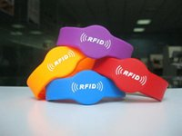 Wholesale khz RFID T5577 Wristband Writable Card Bracelet RFID Copy Clone Card