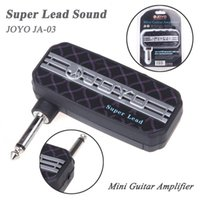 Wholesale JOYO JA Super Lead Sound Mini Guitar Amplifier Suit College Dorms Or Travelling Without Distrubing Other People
