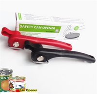 Wholesale Kitchen Cans Opener Jar Opener Stainless Steel Manual Side Cut Professional Ergonomic Manual Can Opener Kitchen Tools b1180