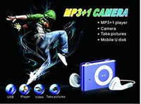 audio and video player - Clip Style MP3 Music Player Hidden Spy Camera Mini DVR Hidden Spy Cam Camcorder Digital AUdio Video Recorder Blue and Black