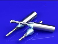 cnc router bits - Good Quality Shank Spiral TCT Double Edged Milling Cutter CNC Router Bits in