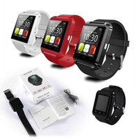 Wholesale Bluetooth U8 Smart watch Wrist Watches With Altimeter For iPhone Samsung S6 Note HTC Android Phone In Gift Box