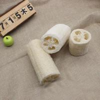 Ball best bath sponge - PC Best Fashion New Natural Loofah Bath Body Shower Sponge Scrubber Pad Hot