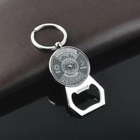 acrylic calendar holder - Keychain English calendar Keychain bottle opener Keychain Key Pendant