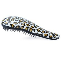 anti static electricity - Fashion Anti static Hairdressing Leopard Print Massage Comb Prevent Static Electricity of Your Hair in Dry Season for Ladies B