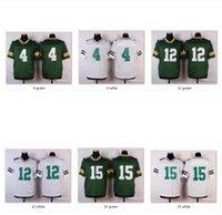 Men bart starr football jersey - Men Elite Jerseys GB Brett Favre Aaron Rodgers Bart Starr Jersey WITH NAME Sports Wear Game Limited Free Drop Ship Mix Order