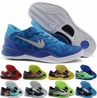 Unisex Basketball Shoes Rubber new KB 8 EP Zoom Sneakers 2017 Basketball Shoes Kobe 8 Mens Running Boots New Basket Ball Trainers Adult Sports Footwear Cheap