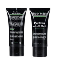 Wholesale 50ml SHILLS Deep Cleansing purifying peel off Black mud Facail face mask Remove blackhead facial mask Smooth Skin Shills Masks