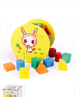 0-12M Multicolor Wood 2017 free shiping baby wooden educational toys hot sale wooden cartoon shape wheel baby favorite rolling wheel toys