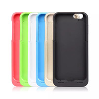 Wholesale 3500mAh Rechargeable Power Bank Case Battery Charger Case for iPhone S Power Pack Portable Battery Cover