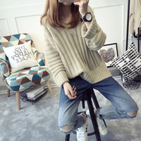 angora sweater pink - Autumn and winter of new rabbit hair sweater coat loose turtleneck sweater Angora shirt ladies sweater