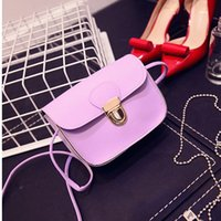 beaded business sale - Mini small shoulder stall selling PU solid bags leisure fashion square cross section change package factory direct sales