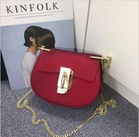 Wholesale 2017 new fashion women handbags colors Mini Matt Scrub Jelly bag flap totes bags One shoulder aslant Chain Cross Body bags