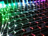 battery operated art light - 122 LEDS Net light String Art Light Christmas Party Wedding Garden Decor Outdoor Fairy Lights Battery Operated LED Coloured light m m