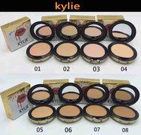 Wholesale kylie jenner face power Kylie face powder profession makeup Fix Powder Plus Foundation press make up face powder colors