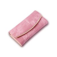 Wholesale New Arrival High quality Leather Long Lady Purse fashion personality Ladies Cloth feeling Handbag PU Leather Cell Phone Pocker Wallet