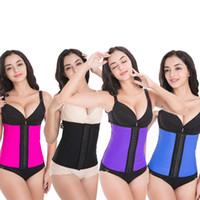 Cheap High Quality Women Latex Waist Trainer Sculpting Shapers belt Corset Slimming Underwear 30pcs lot Free shipping
