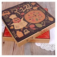 Wholesale 2017 Promotion Patterns Pizza Box cm Packing Box Fast Food for wedding party