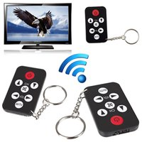 Wholesale Mini Universal TV Remote Infrared IR Set Television Control Controller Key Ring Chain