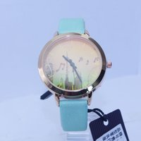 battery pictures - 2016 famous design cute picture dial leather strap band watches alloy case life waterproof watches for ladies
