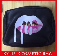Wholesale In Stock New Arrival Kylie Bags Cosmetics Birthday Bundle Bronze Kyliner Copper Creme Shadow Makeup Bag