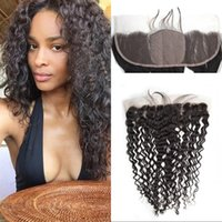 baby tangle - Human Hair Deep Wave Silk Base Frontal Ear to Ear Silk Frontal with Baby Hair No Tangle