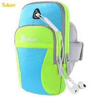 Wholesale Tuban Outdoor Sports Waterproof Mobile Phone Arm Bag Running Fitness Cycling Feflective Fabrice inch Phone For Men Women