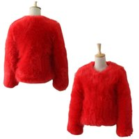 Wholesale New Vintage Women Faux Fur Coat Winter Warm Outwear Long Hair Jackets Overcoat Tops