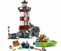 Wholesale The series of the Scooby Doo haunted lighthouse assembling building block toy