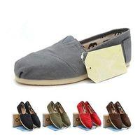 Precio de Hombres zapatos nuevos estilos-Las mujeres libres de los zapatos de lona del envío del nuevo estilo de la nave y los zapatos de lona libres de los hombres forman las zapatillas de deporte planas de la espadrilla de las mujeres de los zapatos de los holgazanes tamaño 35-45