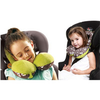 Wholesale Years Old Baby Safety Seat Headrest Neck Protection Pillow Type U Infant Car Travel Pillow ZY009