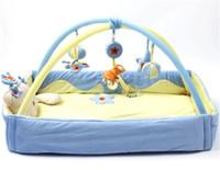 Wholesale Big size Multifunctional Music Baby Play Mat Infantil Educational Crawling Activity Gym Carpet babies carton bear plush toys