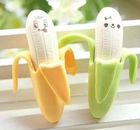 Wholesale Korean creative stationery banana style eraser pack School supplies student gifts