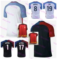Wholesale Thai quality United States Black white Red Soccer Jerseys YEDLIN MORGAN ZUSI Football shirt