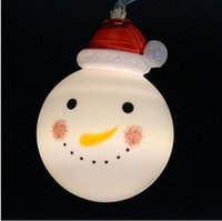 battery powered patio lights - 2016 Christmas Lights Powered LED m Snowman String Lights for X mas Tree Garden Patio Indoor and Outdoor Decor Warm White bi colour