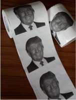 Wholesale Hillary Clinton Donald Trump Toilet Paper Hillary VS Trump Election Novelty Gag Hilarious Stocking Stuffer