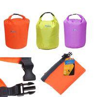 Dry Storage Unisex Plain Sports Outdoor Camping Travel 20L 40L 70L Folding Portable Waterproof Bag Storage Dry Bag for Canoe Kayak Rafting Kit Equipment 2503044