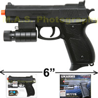 Wholesale NEW quot BERETTA AIRSOFT PISTOL GUN POINTING LASER INCLUDED UKARMS M777R MM BB