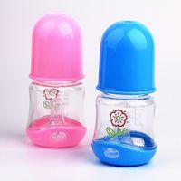 Wholesale Baby Care Newest ml PP Silicone Baby feeding bottle Infant Newborn Feeding Nursing Nipple Bottle kids Juice water Bottles