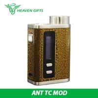 ants wood - CIGPET ANT TC Box MOD W Wood Leopard Powered By Single Cell CIGPET ANT TC Box MOD Original