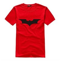 animate quick - Batman T shirt Men s short sleeve T shirt Animated cartoon printed round collar short sleeves made of pure cotton t shirts sent free