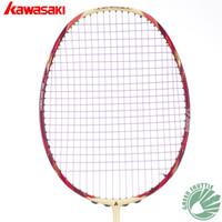 Wholesale 2017 genuine Kawasaki KBC Badminton Racket Box Frame Type Carbon Racket With Free Grip