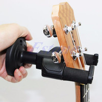 other D12189 D12189 wholesale Electric Guitar Wall Hanger Mount Holder Stand Rack Hook Display For All Size BK