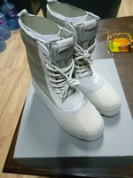 Wholesale Send With DHL Kanye West Boost Men s Boots Causal Boots Mens Running Shoes Send With Original Box Official Box Send Two Box Kanye West