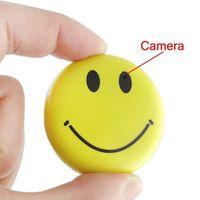 Sourire vidéo Prix-HD Mini Smile Face Spy Camera Cam Caméra cachée DVR Enregistreur vidéo Caméscope Mini DV DVR Driving Recorder Caméra voiture