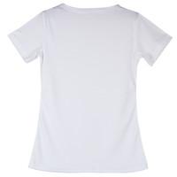 T-shirt moulant à col roulé à manches courtes M L XL XXL 3XL