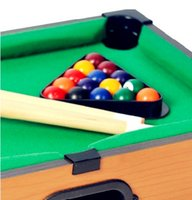 Wholesale Winmax Color Box Packing Mini Pool Table portable pool table American Child Snooker Table Toys for Child